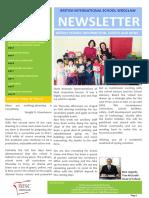 25 Newsletter 31st March 2017