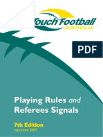 7th edtn rule book