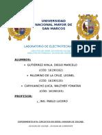 Informe 6 ELECTROTECNIA