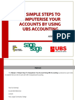 Manual 8 Simple Steps Using Ubs Accounting