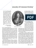 Leibniz 'Community of Common Destiny'