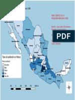 Mapa Temático de Población.