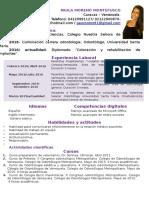 Cv Paula Moreno Montefusco