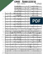 Armonie abruzzesi (CAFFARELLI) - Parti & Partitura