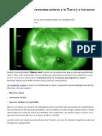 Cómo Afectan Las Tormentas Solares a La Tierra y a Los Seres Humanos _ Lagranepoca