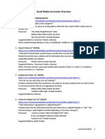 social media curriculum overview