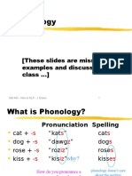 Lect20 Phonology
