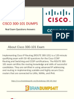 Cisco 300-101 Exam Dumps  & 300-101 Questions Answers