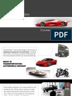Automotive Design Course india