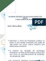7ª Aula - Um Breve Histórico Da Psicologia Jurídica No Brasil