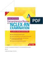226704019 Saunders Comprehensive Review for the NCLEX Docx