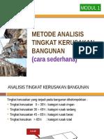 Analisis Kerusakan 2016