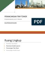 4. Perancangan Tray Tower