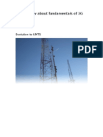 Overview About RF 3G