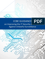 Guidance on Improving the IT Security of Lawyers Against Unlawful Surveillance
