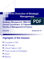 An Overview of Strategic Management Ho1