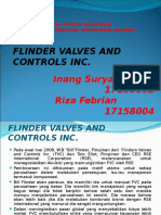 Pembahasan Kasus Flinder Valves and Controls Inc