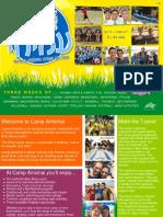 Camp Amichai 2017 Brochure - English
