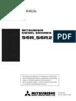 99410 12140 Operation Maintenance Manual S6RS6R2 Jan.2011 Mitsubishi