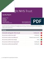 CQC report Isle of Wight NHS Trust April 2017