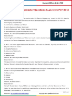 Current Affairs September Question & Answer 2016 PDF by AffairsCloud.pdf