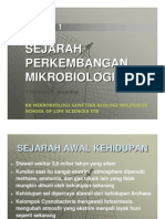 Sejarah Mikrobiologi