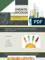 Elemente De Toxicologie