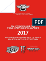 2017 FIM Speedway World Cup Regulations - updated 24.04.17