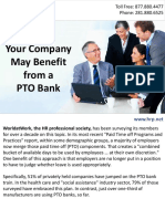 Your Company May Benefit from a Paid Time Off (PTO) Bank