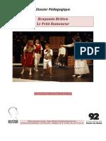 Dossier Pédagogique Petit Ramoneur