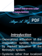 Disseminated Intravascular Coagulation (DIC)