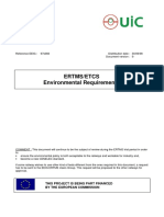 ETCS Environmetal Requirements