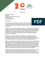 Net Neutrality Startup Letter