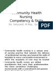 Community Health Nursing Intervention