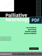 Palliative Neurology - I. Maddocks, et. al., (Cambridge, 2005) WW.pdf