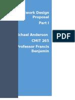 CMIT 265 Anderson Proposal Part 1