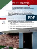 Catalogo Porta Seguranca