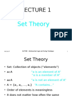 Lecture 1 - Set & Subset