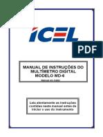MD-6000 Manual - ICEL - Inglês