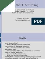 Shell Scripting 2