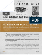 No Pension for Ex-Slaves - Prologue - Summer 2010