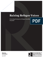 Raising Refugee Voices