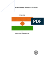 FAO Forage Profile - Niger