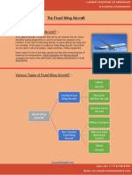 Fixed Wing Aircrafts – Types, features and major advantages.