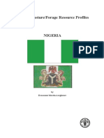 FAO Forage Profile - Nigeria