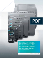 Sinamics v20 Brochure
