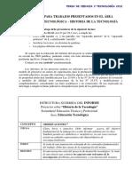 Informe Tecnología Proyectos sobre Historia de la Tecnología.pdf