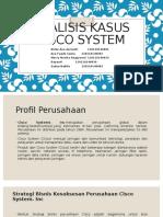 Analisis Kasus Cisco System