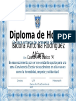 Diploma Convivencia