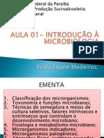 Aula01 Introducaoamicrobiologia